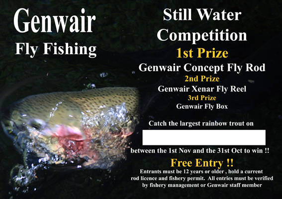 Genwair Still Water Fly Fishing Competition Poster